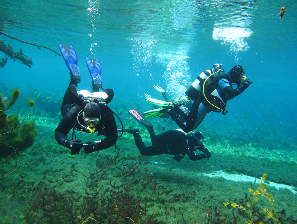 Diving trips in Ohrid