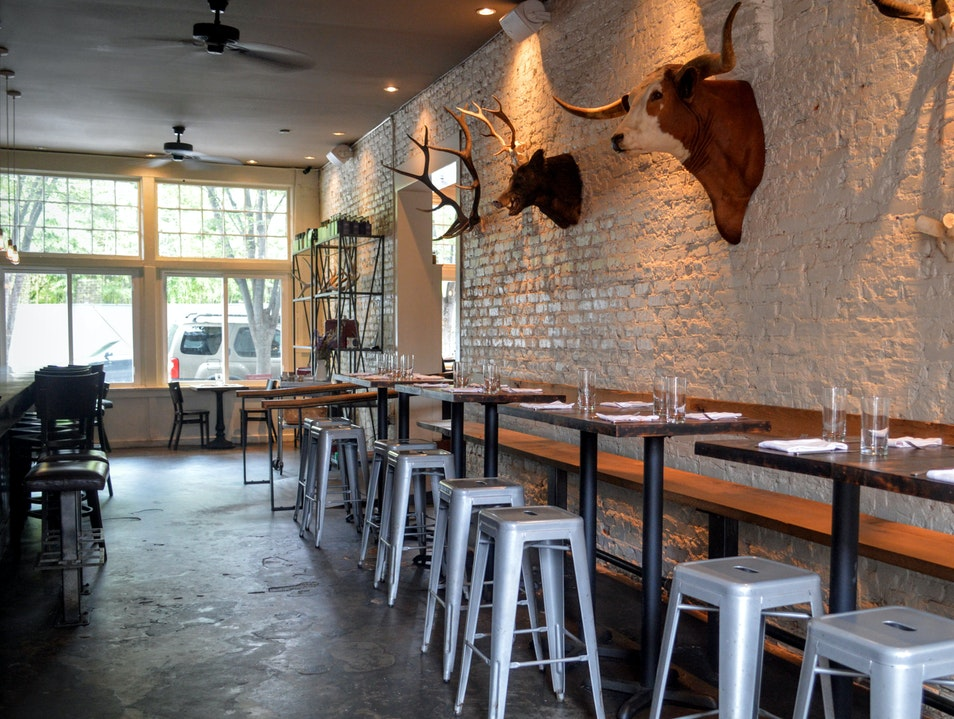 Animal Heads and Chef's Breakfasts at One Eared Stag