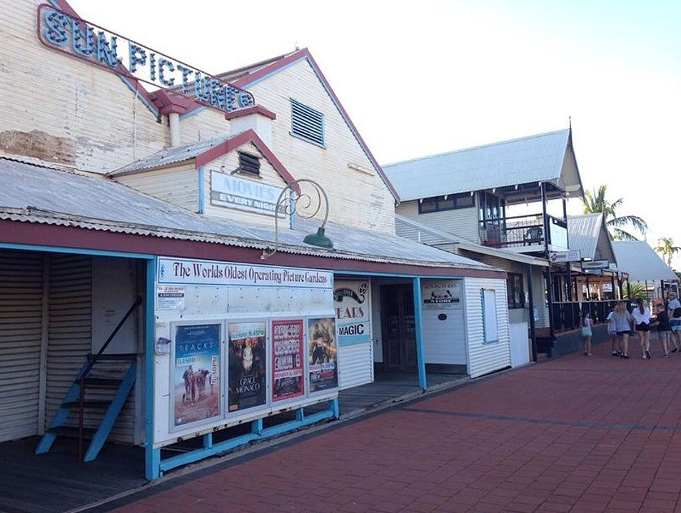The World's Oldest Outdoor Cinema Broome  Australia