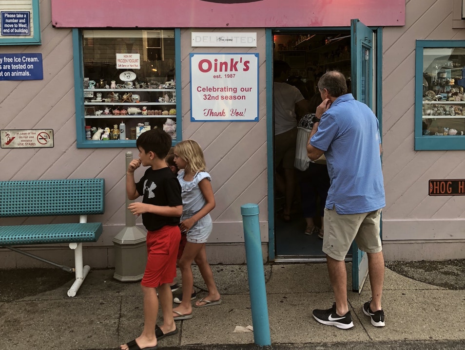 Where to Pig Out on Ice Cream in New Buffalo New Buffalo Michigan United States