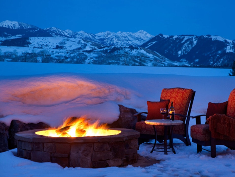 Luxury Lodge in Jackson, Wyoming   Earth
