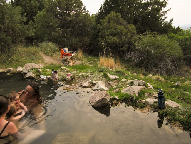 Valley View Hot Springs Lives Up to Its Name