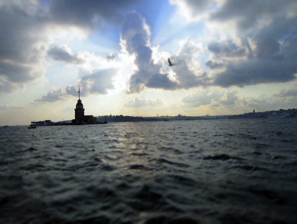 A Tower in the Bosphorus Istanbul  Turkey