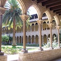 Monastery of Pedralbes Barcelona  Spain