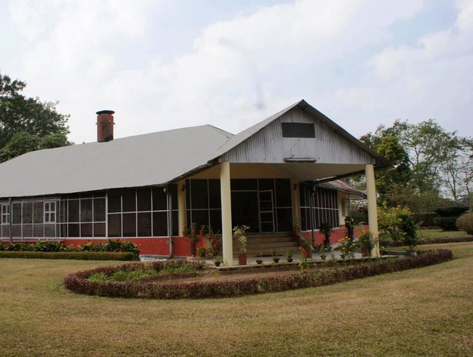 The exhilarating experience of staying in heritage bungalows resided earlier by the British colonial rulers amidst the evergreen tea gardens. Jorhat Cd Block Part  India