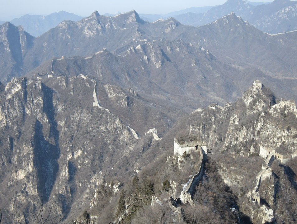 Jiankou, a Remote Portion of the Great Wall of China