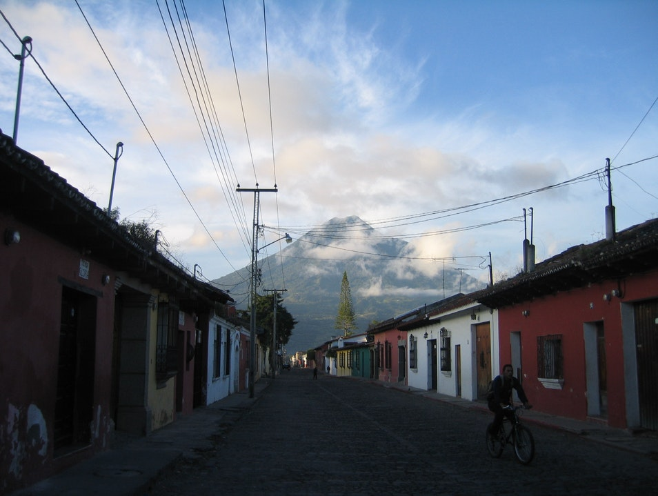 An early morning in Antigua Antigua Guatemala  Guatemala