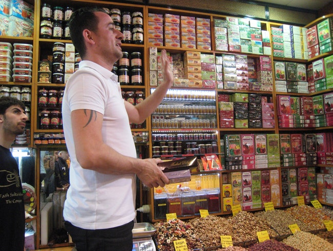 Selling In The Spice Bazaar