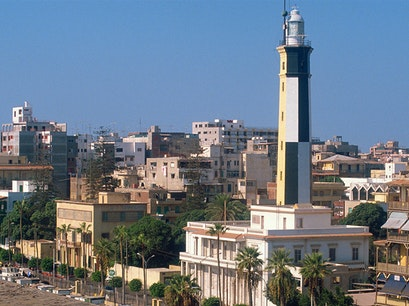 Port Said Lighthouse Port Said  Egypt