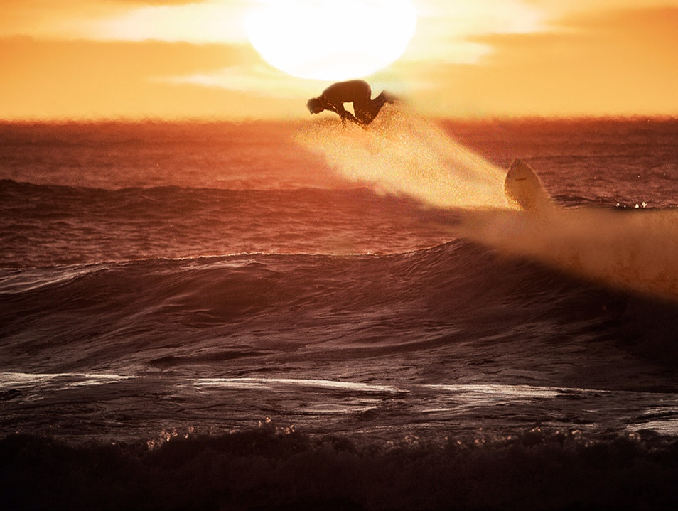 Come have a surf and beautiful coffee at Ocean Beach...