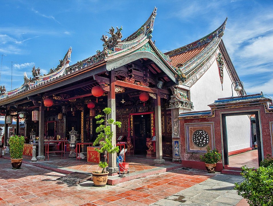 Chinese Culture at the Cheng Hoon Teng Temple Melaka  Malaysia