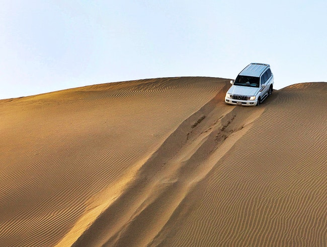Dune-Bashing Arabian Safari