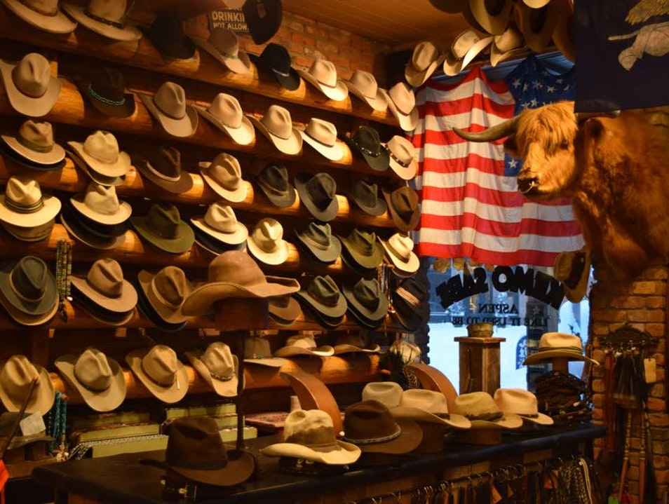 The Real Cowboy Store Aspen Colorado United States