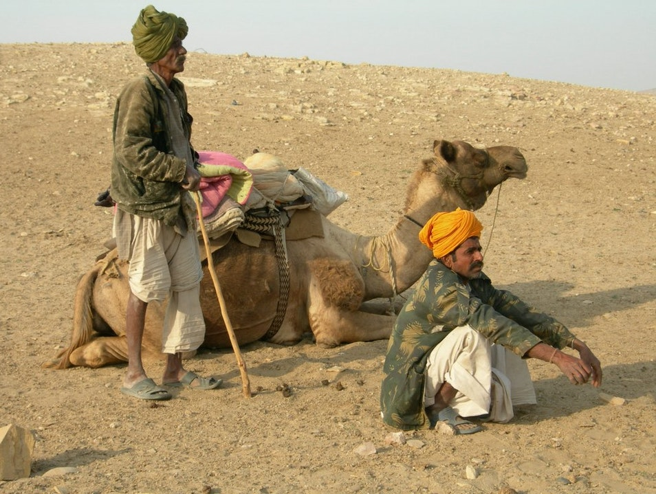 Deep in the Desert Jaisalmer  India
