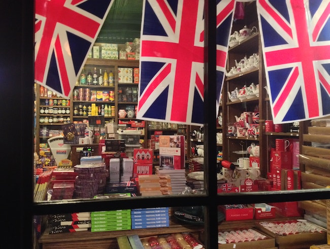 A little piece of Britain in NYC