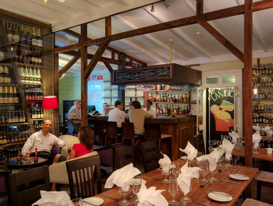 Choosing the Right Beer at Port Louis' Lambic Restaurant and Bar Port Louis  Mauritius