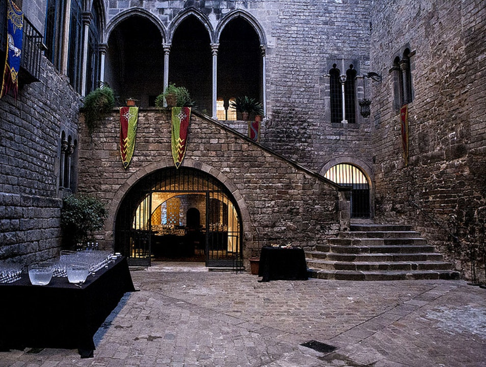 History and Legends night at Palau Requesens Barcelona  Spain