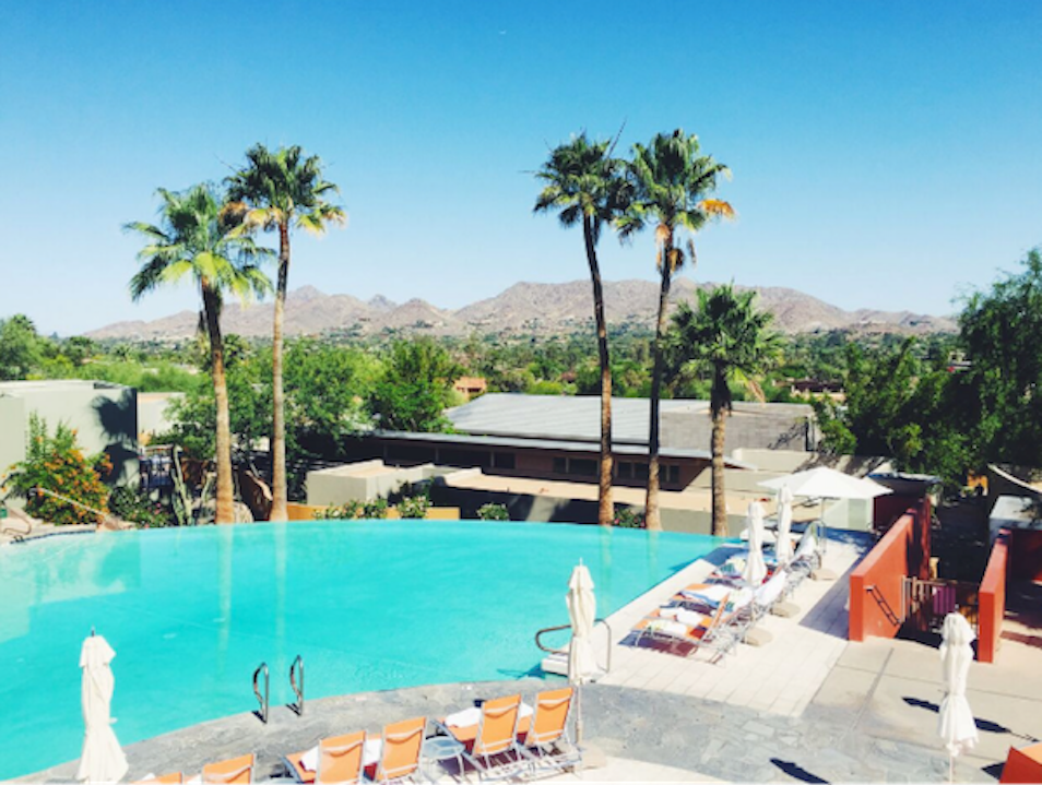 Settle in to the Sanctuary on Camelback Mountain