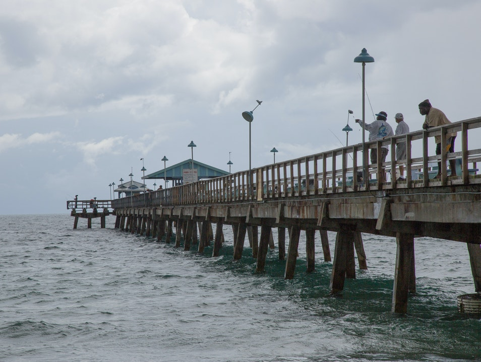 Cast a Line at Anglin's Pier Lauderdale By The Sea Florida United States