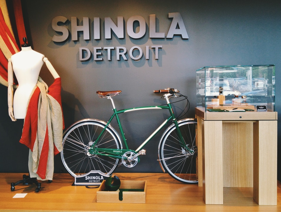 Shinola is Polished and Ready for Your Perusal Detroit Michigan United States