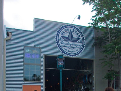Blue Star Bicycling Company San Antonio Texas United States