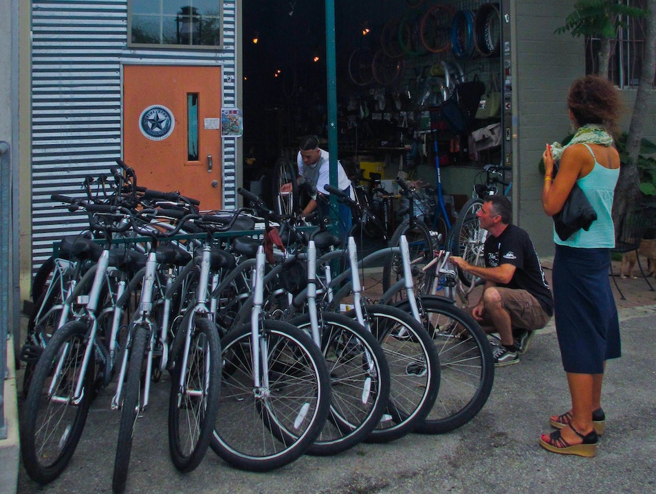 The Blue Star Bicycling Company