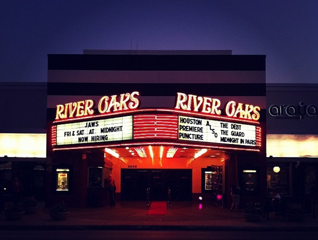 See a Movie at River Oaks Theatre