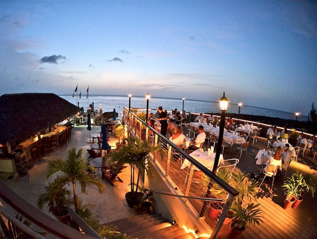 Upscale Bar & Dining on the Beach