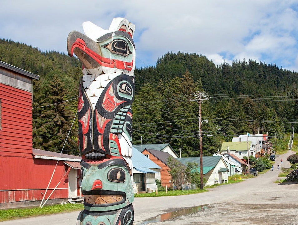 Native Alaskan Culture  Hoonah Alaska United States