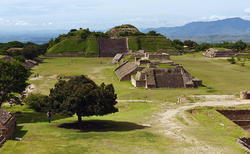 Monte Albán served as the capital of the Zapotec civilization for more than a millennium.