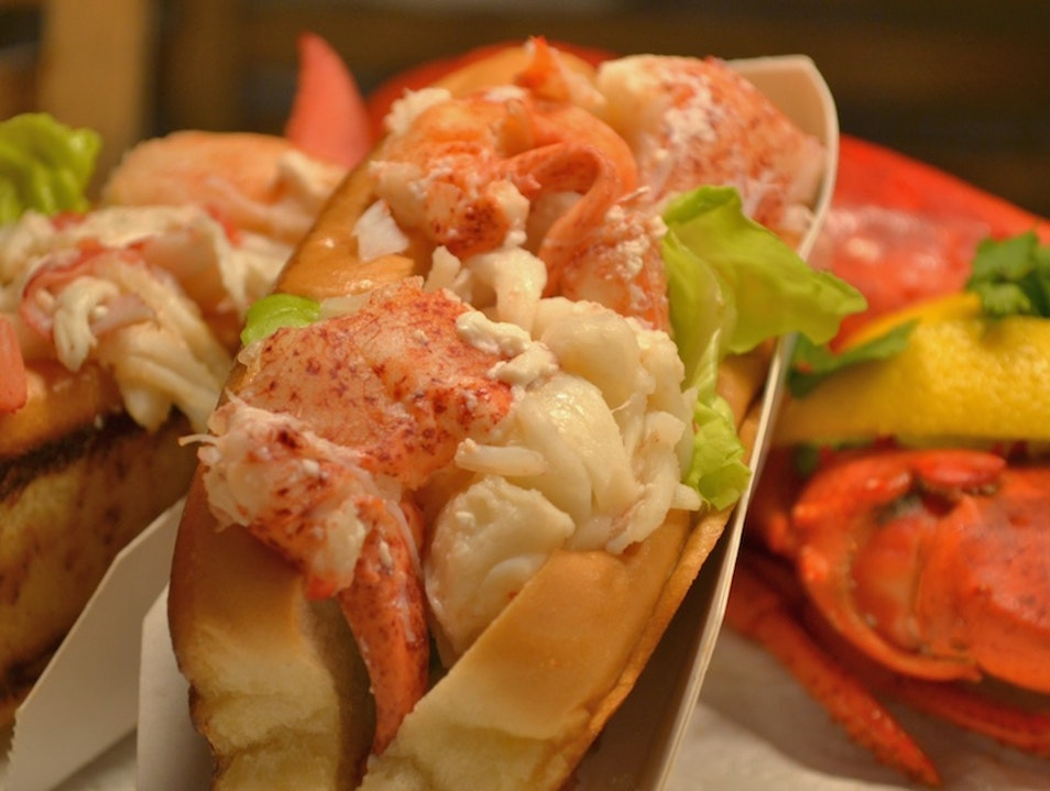 Chef Clark Frasier's Favorite Lobster Roll Wells Maine United States