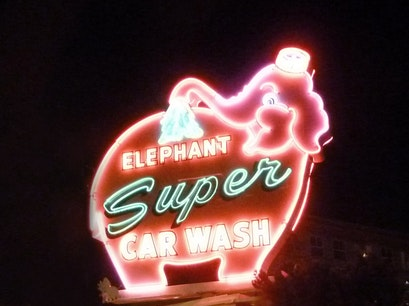 Elephant Super Car Wash Seattle Washington United States