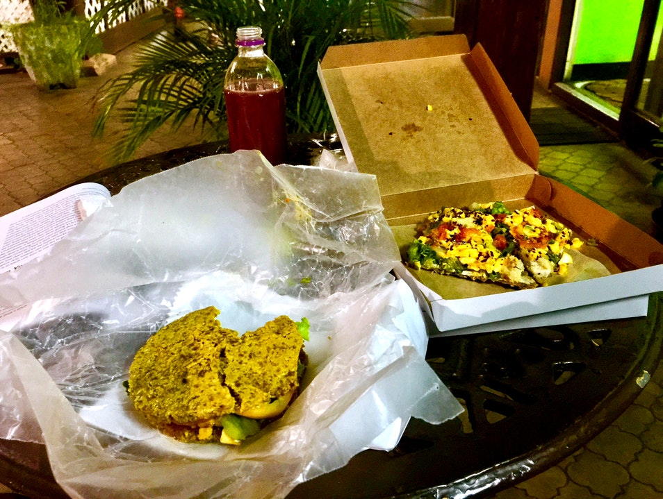 Jamaican Vegan food done right Kingston  Jamaica