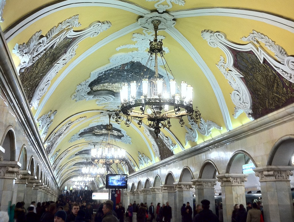 Subway Moscow  Russia
