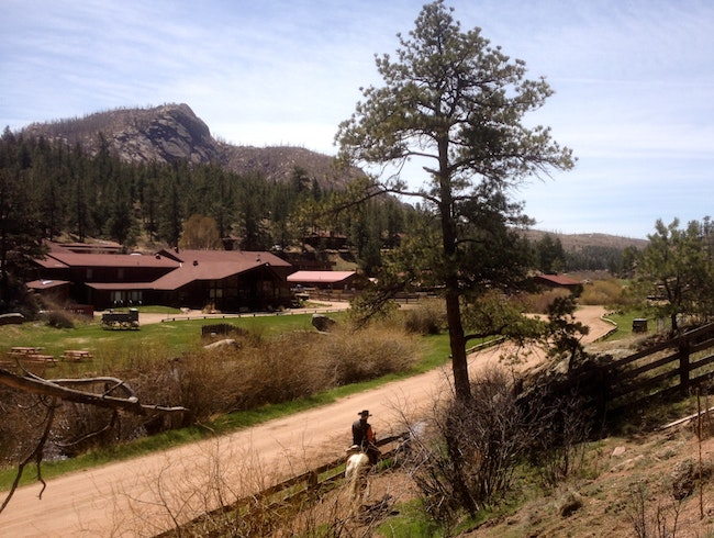 Lost Valley Ranch lives up to its name, but only 70 miles from Denver