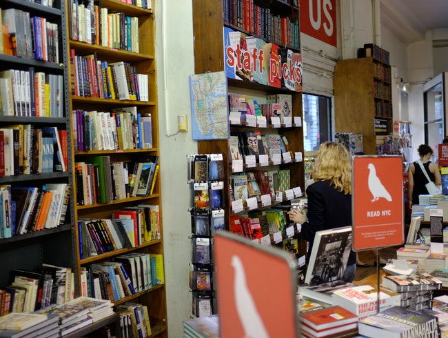 A Wonderful Paradox of Choice at The Strand Book Store