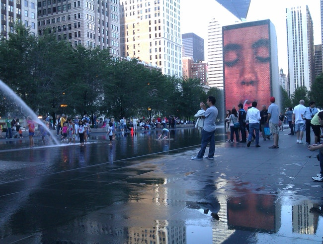 Faces of Chicago Fountains