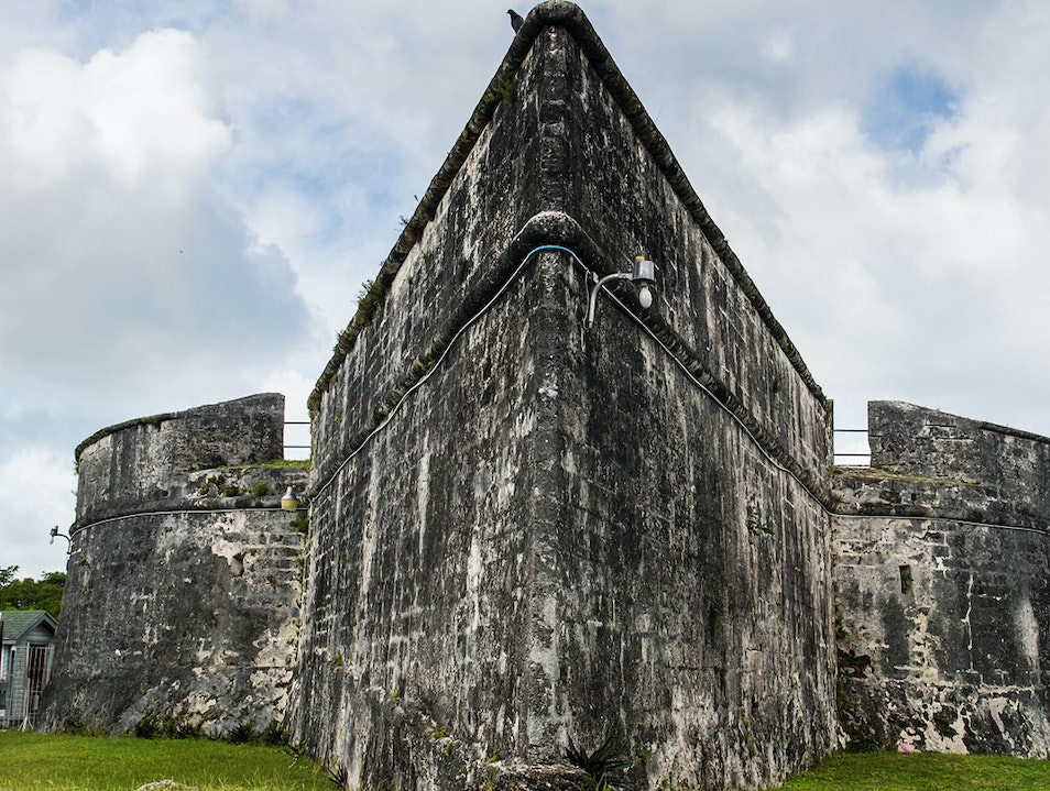 Fort Fincastle and the Queen's Staircase