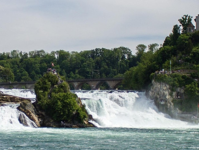 Rheinfall - Europe's largest waterfall