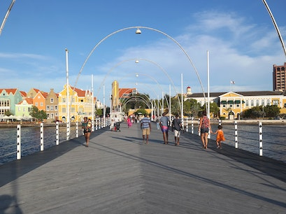 Queen Emma Bridge Willemstad  Curaçao