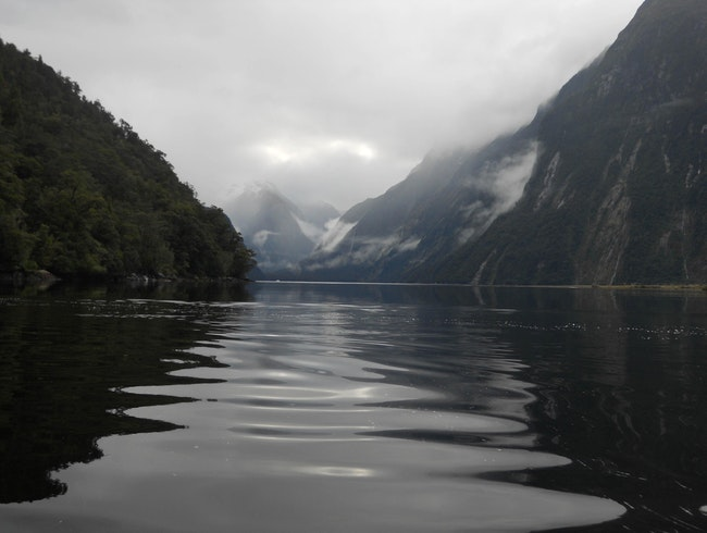 Kayaking Peaceful Milford Sound