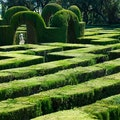 Laberint d'Horta Park Barcelona  Spain