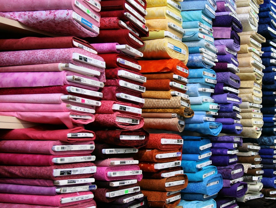 Famous Fabric in New York New York New York United States