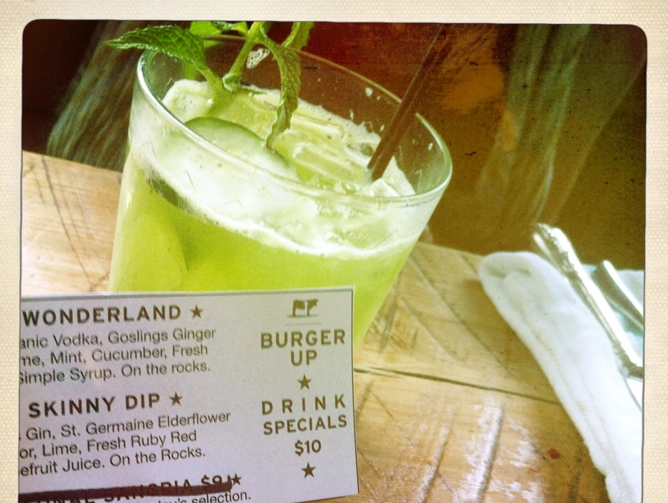 Hip Sips & The Best Burgers at Burger Up