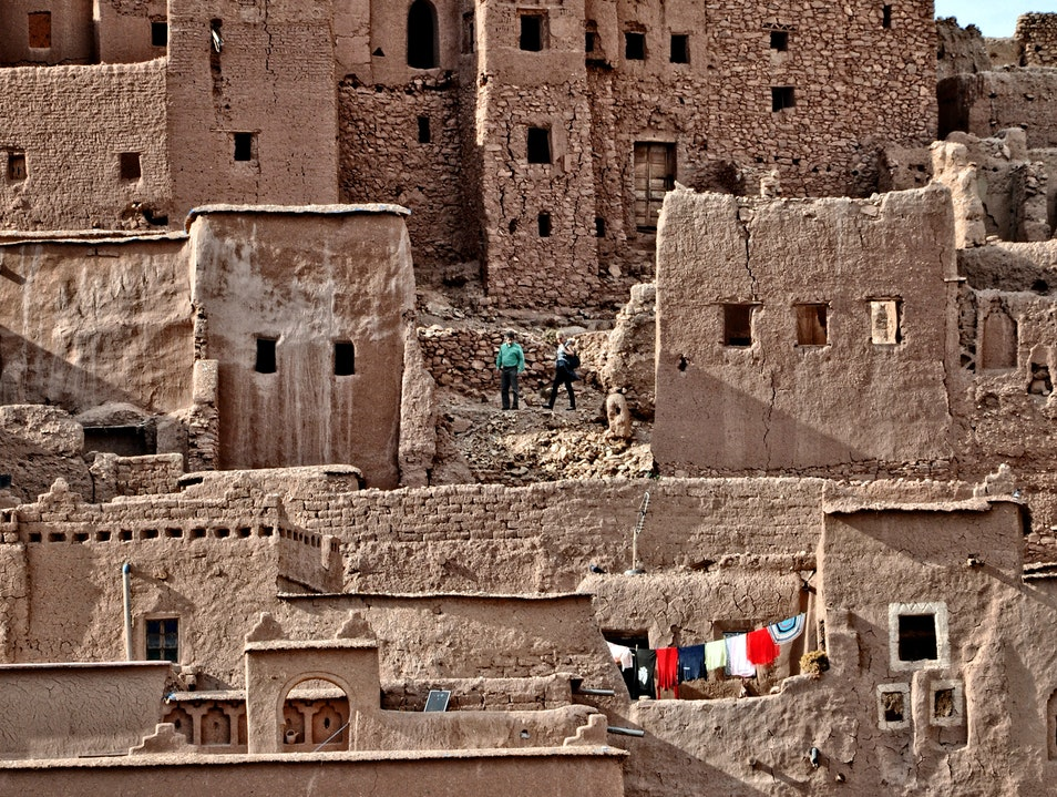An extraordinary site you'll want to visit Aït Benhaddou  Morocco