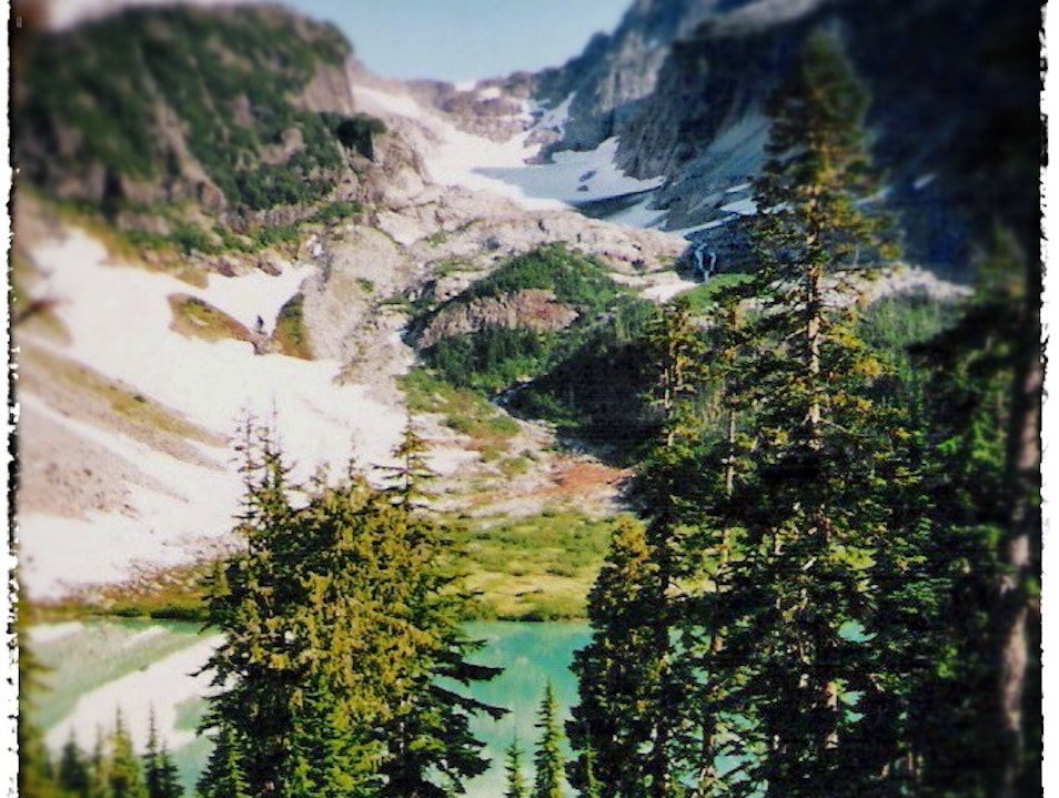 Blanca Lake and Columbia Glacier Gold Bar Washington United States
