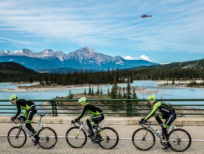 Road Cycling in Jasper National Park