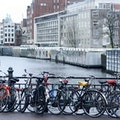 Canal Bike Amsterdam  The Netherlands