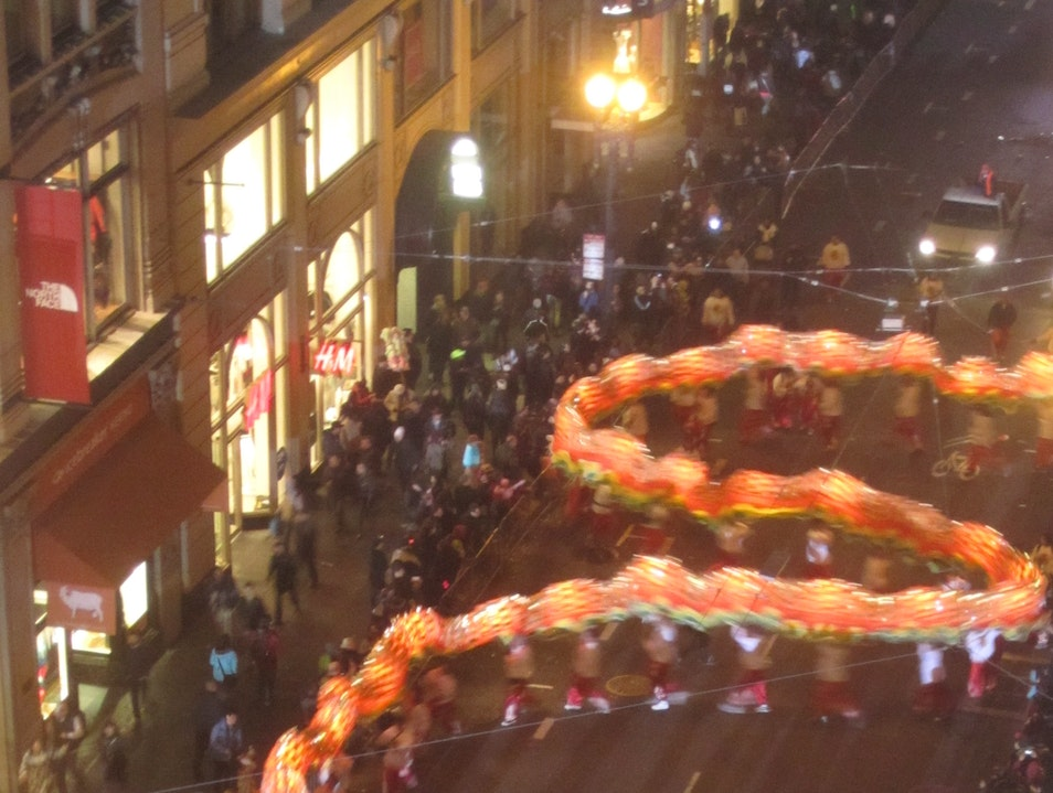 Witnessing the Dragon Dance San Francisco California United States