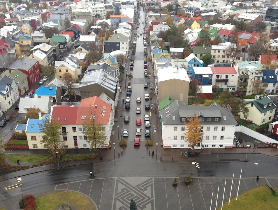Great view and best way to see the whole city of Reykjavik Reykjavik  Iceland